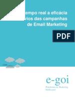 Ver em tempo real a eficácia dos envios das campanhas de Email Marketing