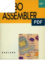 Turbo Assembler Version 1.0 Reference Guide 1988