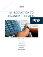 UNIT 1 Financial Services