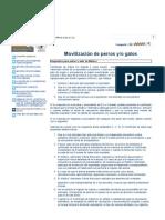 MOVILIZACIÓN DE PERROS Y:O GATOS