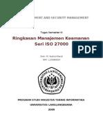 Rangkuman ISO 27000