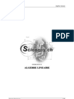 Exercices d'Algèbre linéaire