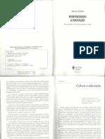 SODRÉ_Cultura e Educação (Reinventando, cap1)