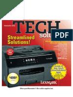 November 2012 Tech Solutions