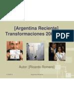 Argentina 2001-2011