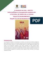 programación académica festival danza nov 7