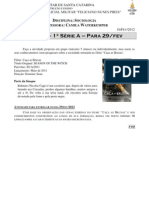 TarefaSociologia1anoFilmeCacaBruxas16fev2012