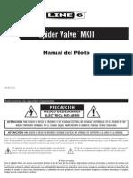 Spider Valve MkII Pilot's Guide - Spanish ( Rev E )