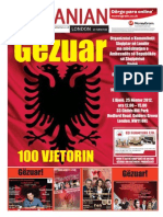 """The Albanian London """"100 years independence"""" November 2012"""