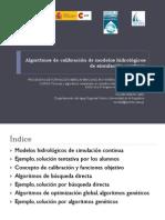 Algoritmos de Calibracion de Modelos Hidrologicos de Simulacion Continua