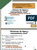 Principales Sistema de Saneamiento Rural