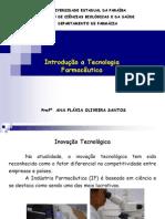Aula 1_ Introduçao a Tecnologia Farmaceutica