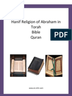 Hanif Religion of Abraham in Torah, Bible and Quran