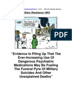 Military Resistance 10K5 Evidence