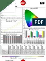 LG 47LS4600 calibration report