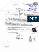 FOR THE JOINDER OF THE FRAUD IS WITH THE ACTIONS OF THE SHERIFF