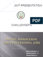 Pricing Managerial and Professional Jobs