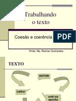 COESÃO TEXTUAL - UFMT - 16 de outubro de 2012
