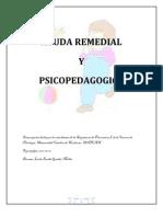Ayuda Remedial Psicopedagogia