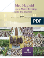 Doubled haploid technology in maize breeding