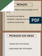 Requisitos básicos para uma produção