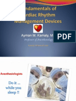 Cardiac Rhythm Management Devices