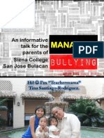 Managing Bullying