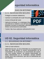Seguridad en la navegación y los archivos Informática 4º ESO