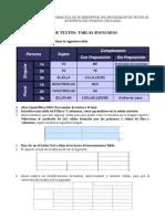 Tablas avanzadas Otros formatos en OpenOffice.org Writer