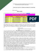 Introducción a las fórmulas FACTURA en OpenOffice.org Calc