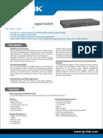 Swicht TPLink TL-SG5426 Hoja Datos