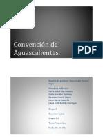 Convencion de Aguascalientes