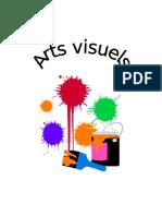 1ere Page Cahier Arts Visuels