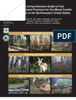 Fuel Management Practices for Dry Mixed Conifer Forests in the Northwestern United States