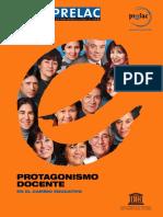 PROTAGONISMO DOCENCTE-PRELAC