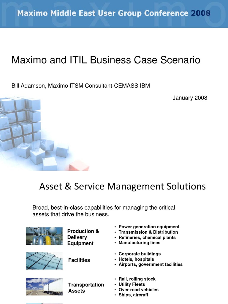 Day 2 itsm maximo itil business case study by bill adamson day 2 itsm maximo itil business case study by bill adamson itil service level agreement cheaphphosting Image collections