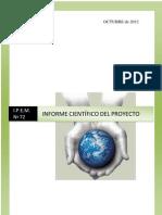 Informe Proyecto Feria 2012 Inst.nacional