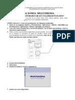 Tablas, gráficas y multimedia Presentaciones Curso Ofimática Academia Usero