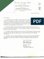 1980 Unami Lodge, Order of the Arrow, Brotherhood Ceremony
