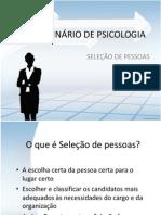 1º SEMINÁRIO DE PSICOLOGIA