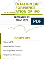 Initial Public Offer ( IPO )