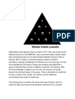 +Moshe Chaim Luzzato Biography