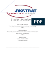 Markstrat Online Student Handbook English