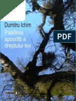 Psaltirea apocrifă a dreptului Iov By Dumitru Ichim
