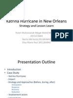 Katrina Hurricane in New Orleans