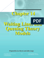 Waiting Lines and Queuing Theory Models