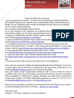 London Silicon Roundabout Weekly Newsletter 09 November 2012