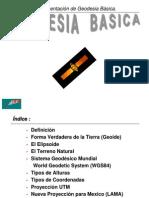 07 Geodesia Basica
