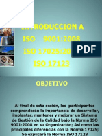 Introduccion a ISO9000 y ISO17025