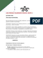 Actividad de Salud Ocupacional Lina Marcela Valderrama Orozco Grupo c
